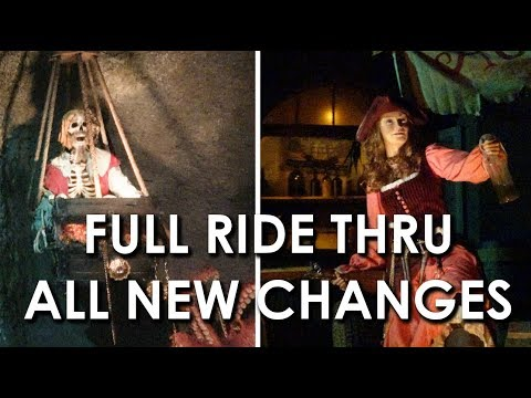 Pirates of the Caribbean - Full Ride Thru w/ all new changes