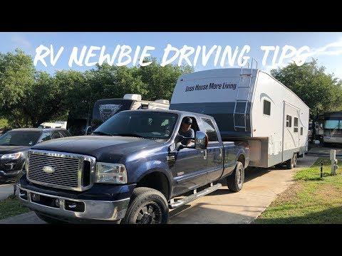 RV Driving Tips! RV Newbie.
