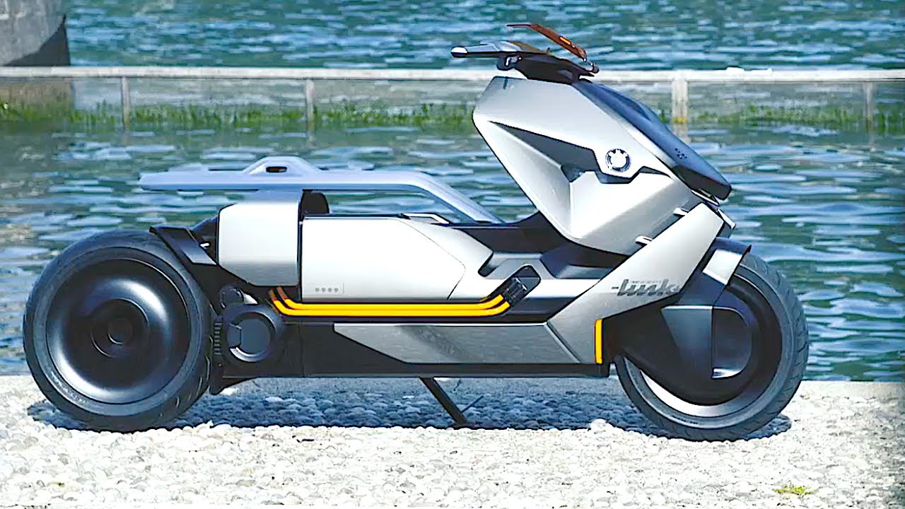bmw electric scooter review world premiere bmw motorrad. Black Bedroom Furniture Sets. Home Design Ideas