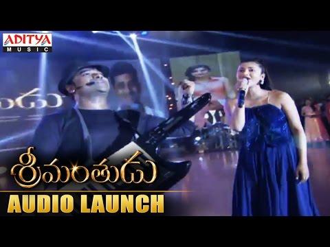 DSP & Shruti Haasan Rocking Performance At Srimanthudu Audio Launch