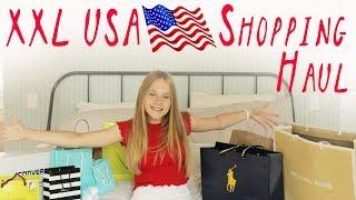 XXL USA Shopping HAUL 🇺🇸 / BRANDY MELVILLE, SEPHORA, RALPH LAUREN // CHARLIE XD