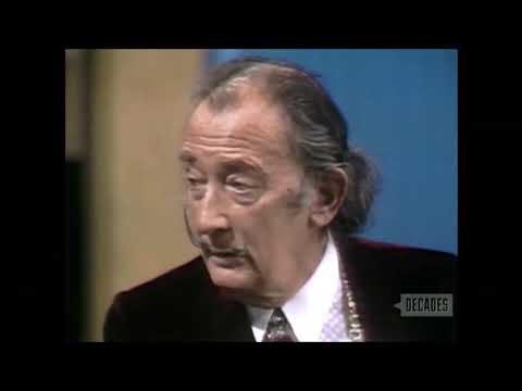 Salvador Dali Discusses Golden Ratio on  The Dick Cavett    March 6, 1970