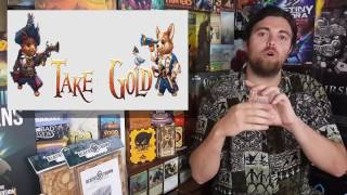 Take the Gold - Unfiltered Gamer - Kickstarter Card Game Review