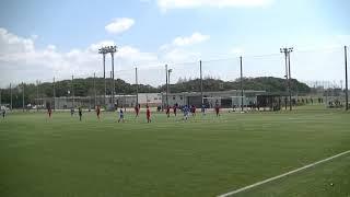 竹田、ゴール!5-0【2018.4.8山口県リーグ1部第1節vs宇部ヤーマン】