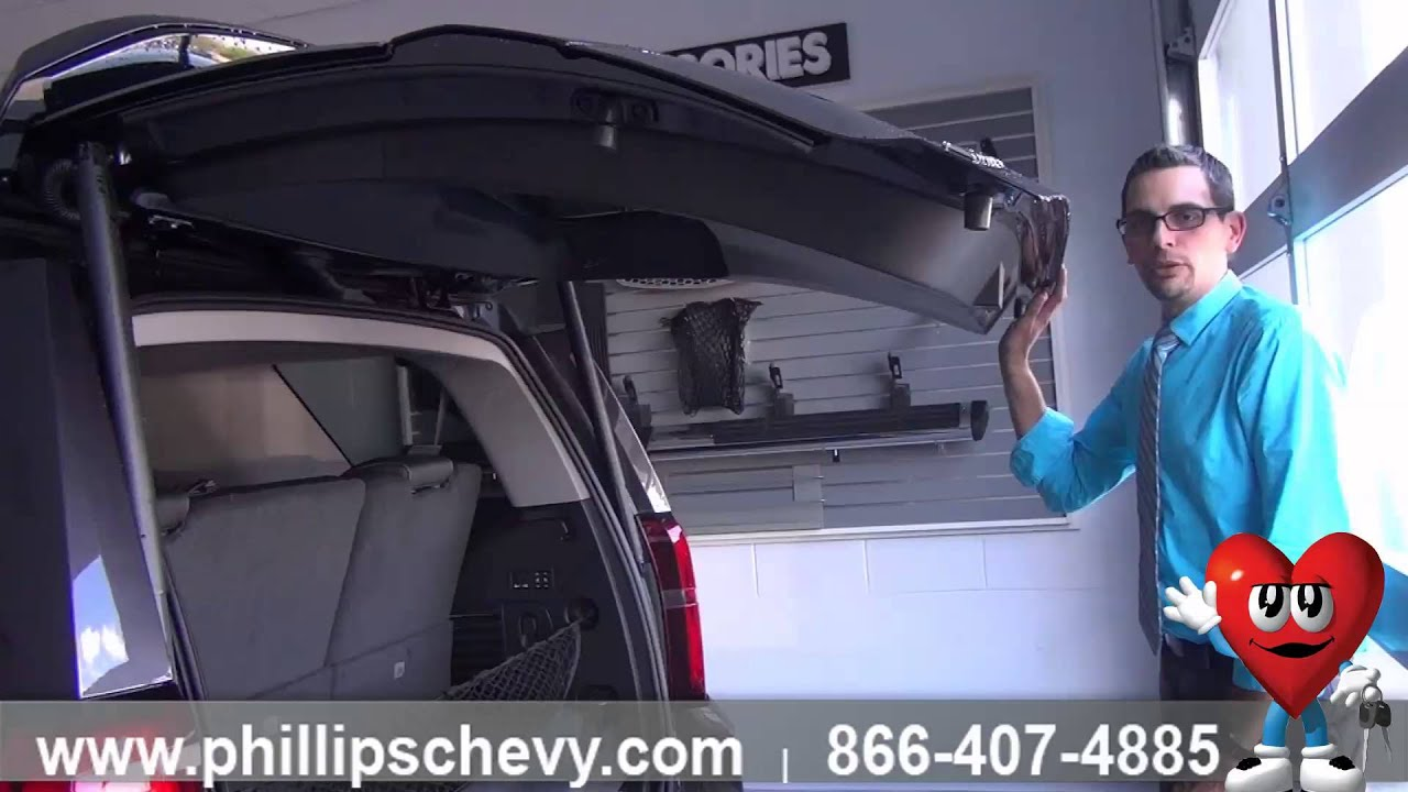 how to program power liftgate 2015 chevy tahoe phillips chevrolet chicago new car. Black Bedroom Furniture Sets. Home Design Ideas