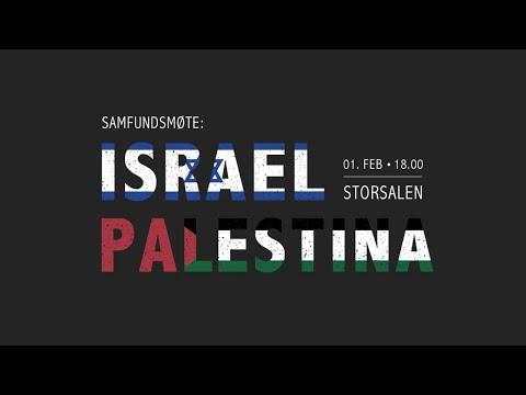 Samfundsmøte: Israel-Palestina