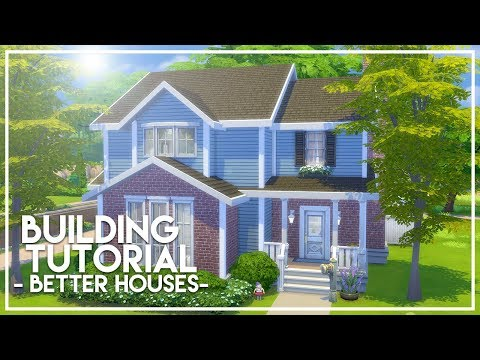 BUILDING BETTER SIMS HOUSES // The Sims 4: Builder's Bible (Tutorial)