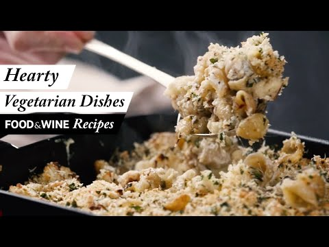 Five Hearty and Easy Vegetarian Recipes   Food & Wine Recipes