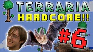 Terraria Hc 2 - Part 6 Prepare For Bats