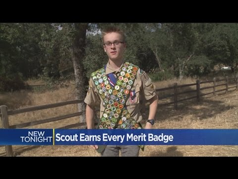 El Dorado Hills Eagle Scout Earns Every Possible Merit Badge