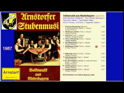 ARNSTORFER STUBENMUSI  -  Weißbacher Polka  ( Titel Nr. 6 von 11 Titeln )  -  1987