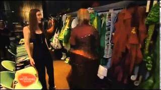 Wicked The Musical   Behind The Scenes   The Morning Show