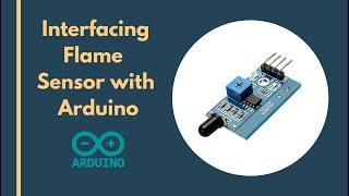 Flame detector arduino video clip