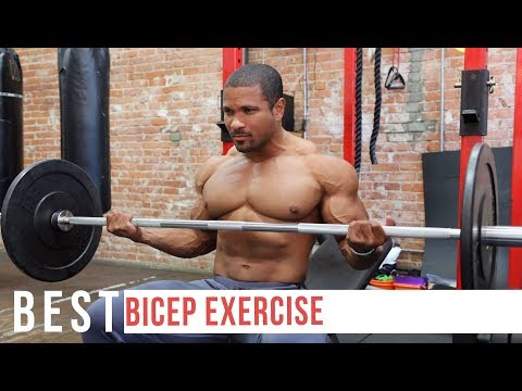 THE BEST BICEP EXERCISE YOUR'E NOT DOING!