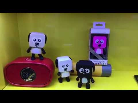 New Funny Dancing Robot Dog Speaker- ShinRui