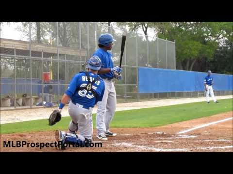 Vladimir Guerrero Jr. - Toronto Blue Jays prospect - MiLB ST full RAW video