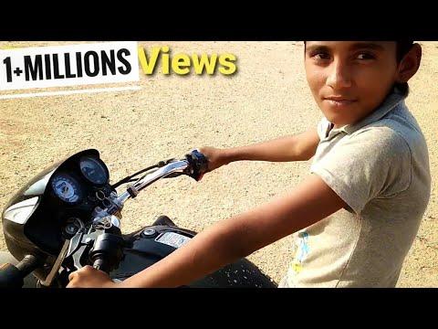 राहुल भाई को 'Hero Splendor Plus' bike कैसे चलाना सिखाया |how to drive a bike in hindi