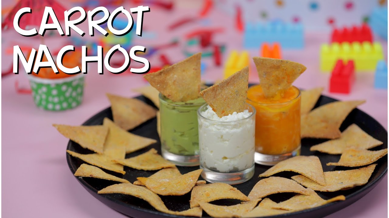 Download Independence Day Special - Healthy Carrot Nachos   Baked Nachos Recipe   Play Date Recipes By Amrita