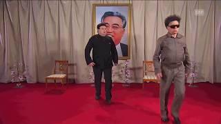 Baby Kim auf Papas Schoss | Giacobbo / Müller | SRF Comedy