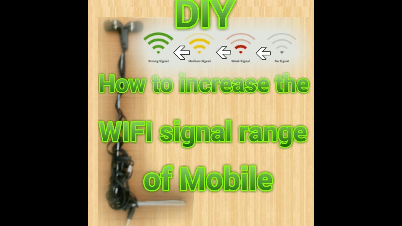 diy how to increase wifi range of your mobile youtube. Black Bedroom Furniture Sets. Home Design Ideas