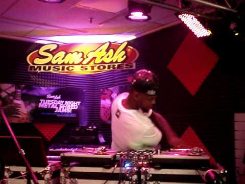 DJ Lord, DJ Expo 2013, Sam Ash Music Store, Atlanta GA