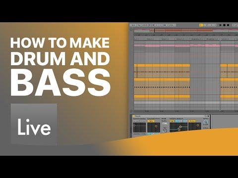 How To Make Drum and Bass in Ableton Live: Making The Drums