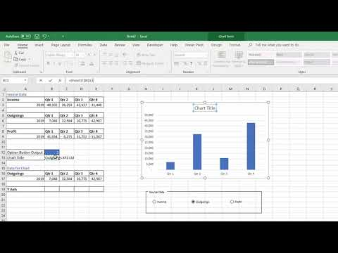 Using Option Buttons or Drop Down to Change Chart Data Source
