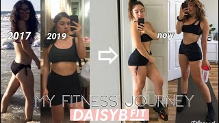 MY FITNESS JOURNEY | DAISYBFIT 💗