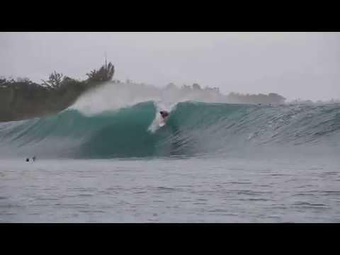 Surfing Greenbush in Mentawai, Indonesia