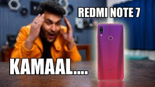 REDMI NOTE 7 in Detail -  FAADU PHONE OF 2019!