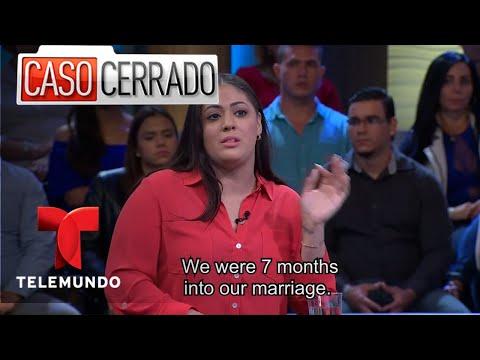 Caso Cerrado | Husband Abandons Wife In Prison 😳🙎🏻🚨| Telemundo English