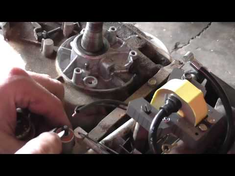 Breaker Points And Ignition Coil Briggs Stratton 5hp Youtube