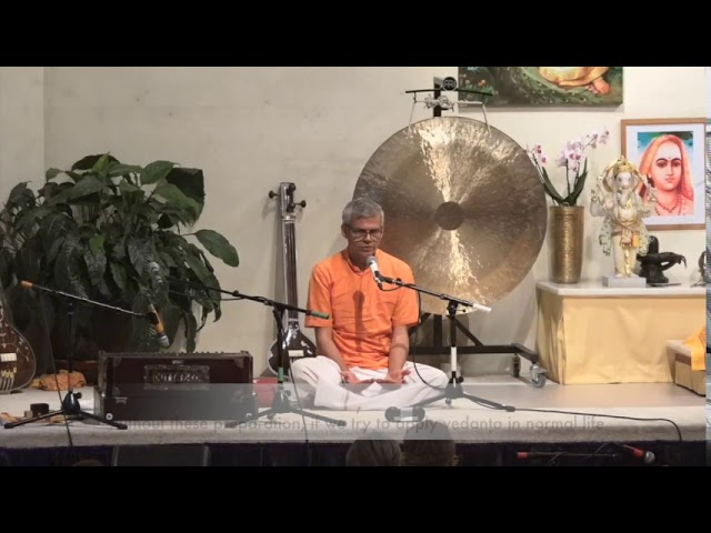 Satsang with Harilalji in Germany