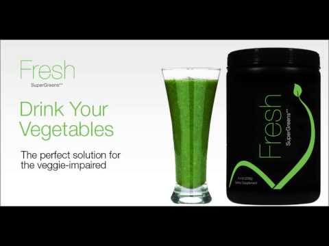 Fresh Greens Drink Dietary Supplement - only from Xseed