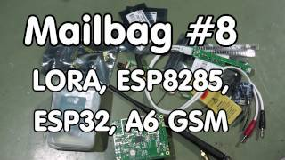 #98 Mailbag #8: LoRa, ESP8285, ESP32 in a WiPy Python board, A6C with camera(In this video I introduce LoRa technology, show a LoPy sensor node and a IC880A concentrator board. I also show a better voltage regulator (RT9013) for the ..., 2016-11-27T09:04:00.000Z)