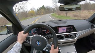 2020 BMW M340i xDrive - POV Test Drive (Binaural Audio)