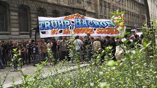 Manifestation contre la Loi Travail de Macron (14 juillet 2017, Paris) [4K]