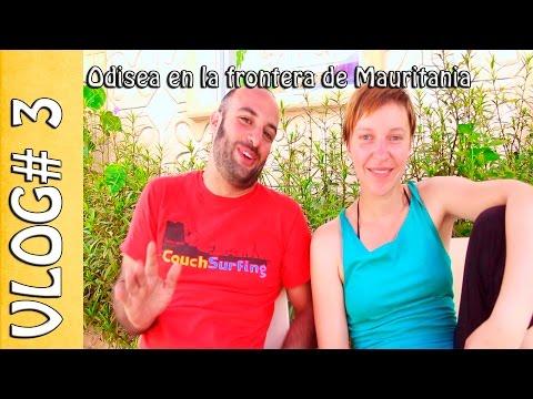 Vlog de viaje #03 - Odisea en la frontera de Mauritania - Nuestra moto, Nuestro mundo