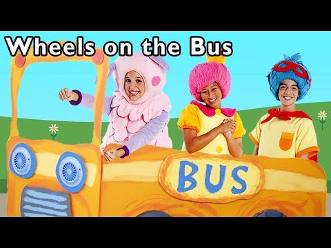 The Wheels on the Bus and More | Kid Car Nursery Rhymes | Baby Songs from Mother Goose Club!
