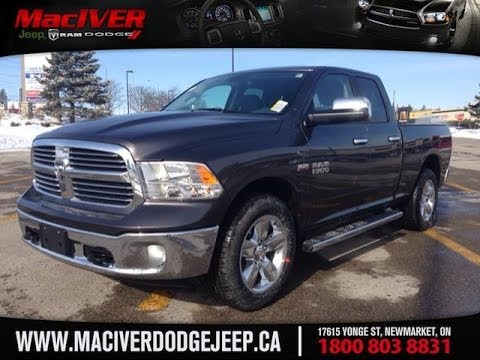 2014 ram 1500 big horn quad cab maciver dodge jeep newmarket ontario youtube. Black Bedroom Furniture Sets. Home Design Ideas