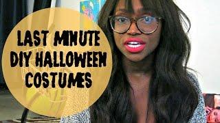BASICALLY DIY: Last Minute Halloween Costumes