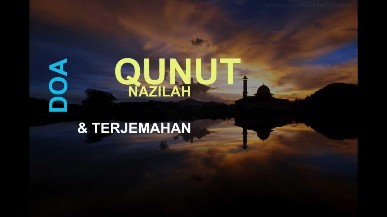 Qunut nazilah pdf doa