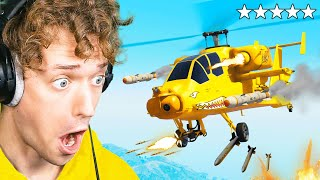 I Built The CRAZIEST HELICOPTER In GTA!