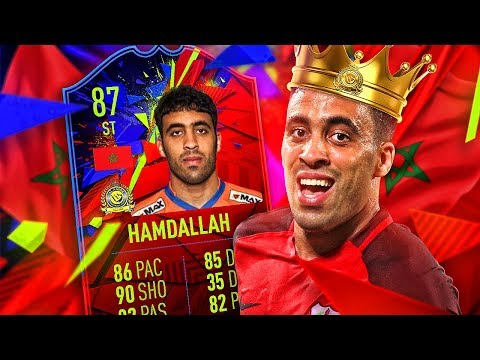 THIS CARD IS INSANE! 87 RECORD BREAKER HAMDALLAH PLAYER REVIEW! FIFA 19 Ultimate Team