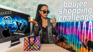Luxury Shopping Challenge! (trying to be boujee) 💸