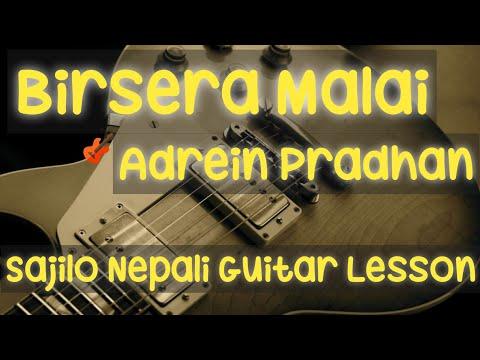 Birsera Malai | Adrien Pradhan Guitar Lesson