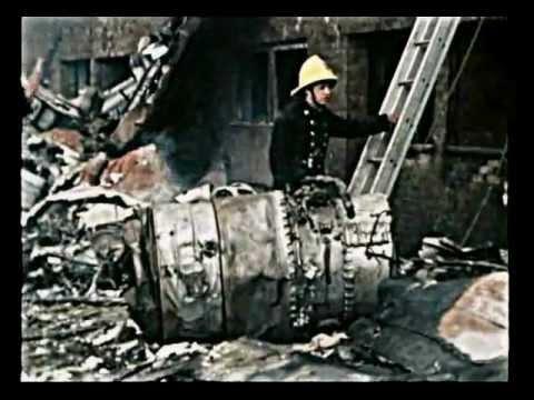 RAF canberra crash Huntingdon Cambs 1977