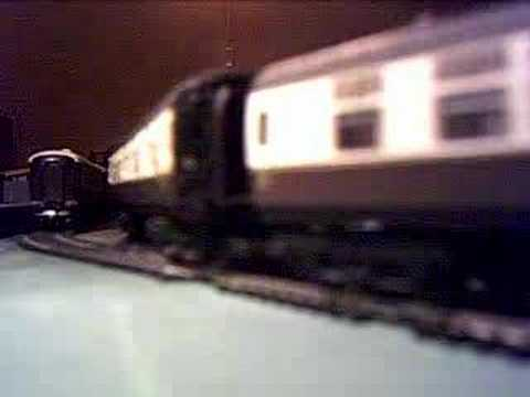 Trainset at dusk