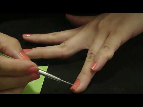 Nail Tutorial - Easy Orchid Flower & Dimond Flower