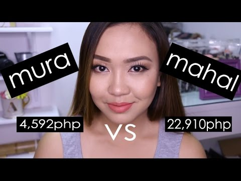 MURA vs MAHAL na Makeup! Review and Comparison!